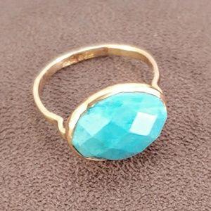 Stella & Dot Mary Margaret Gold Stone Ring